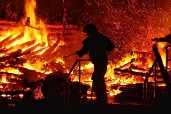 На Львівщині у пожежі в дачному будиночку живцем згоріли двоє братів