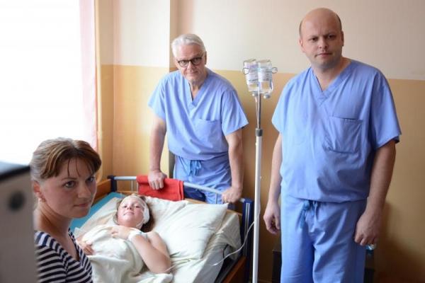 У Львові за шість днів канадські лікарі проконсультували понад 100 та прооперували 8 дітей