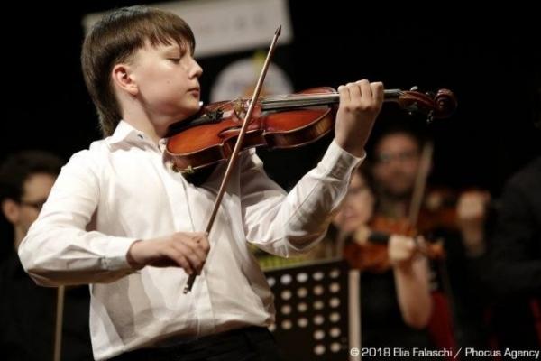 13-річний львів'янин став призером на всесвітньому конкурсі скрипалів в Італії