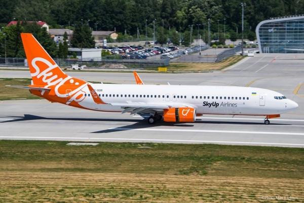 Компанія SkyUp відмінила низку рейсів зі Львова до Єгипту