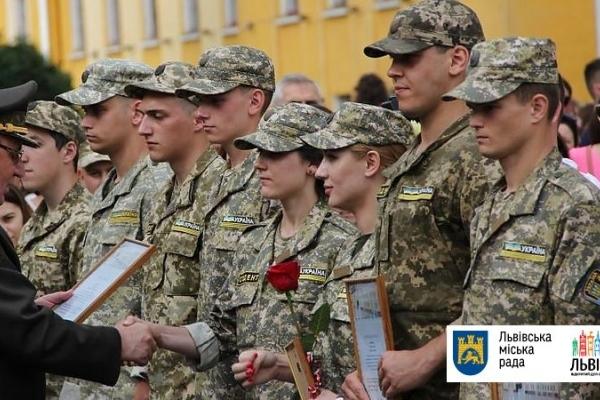 У Львові офіцери запасу присягнули на вірність українському народу