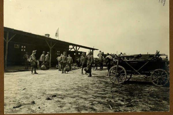 Підгірці на ретро фото 1916 року