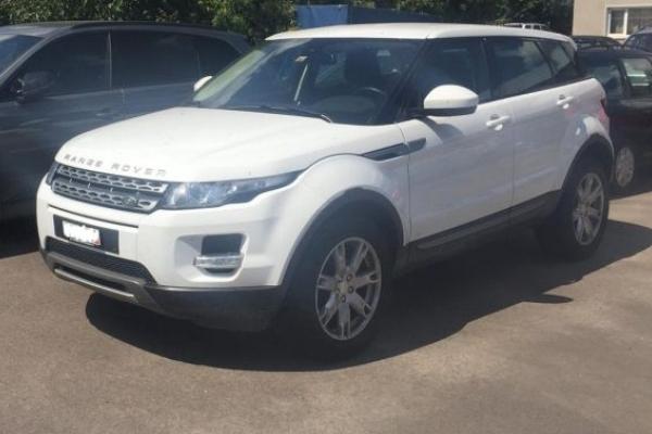 На Львівщині митники вилучили дорогий «Land Rover»