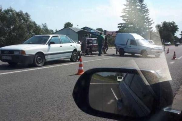 На Львівщині не розминулись три автомобілі