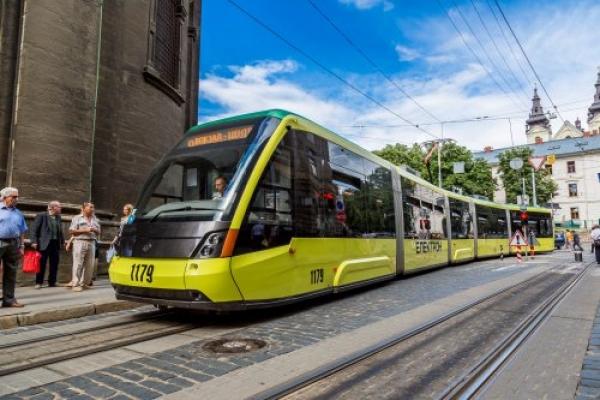 У суботу в центрі Львова не їздитимуть трамваї