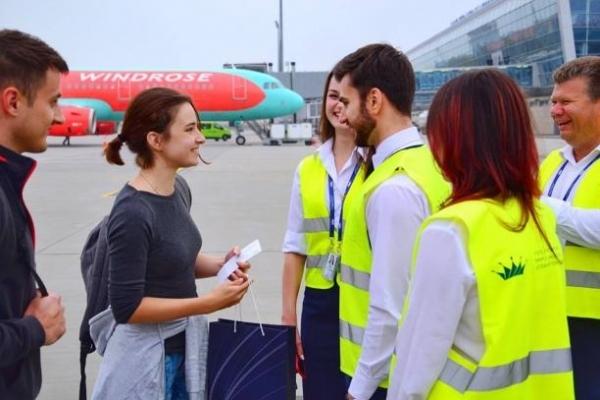У Львівському міжнародному аеропорту імені Данила Галицького зустріли мільйонного пасажира