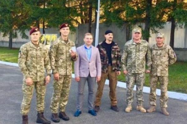 У Львові відзначили призерів чемпіонату Збройних Сил України з рукопашного бою