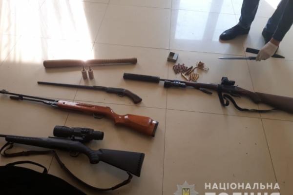 На Львівщині вилучили гранатомет і 585 набоїв