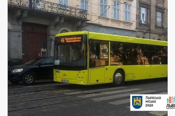Львовом почали їздити нові маршрутні автобуси