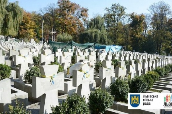 У Львові впорядковують могили січових стрільців