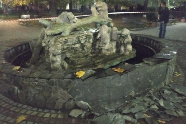 На Перемишлянщині п'яний чоловік підірвав фонтан