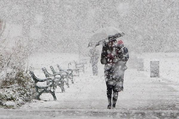 Цього тижня на Львівщині випаде перший сніг