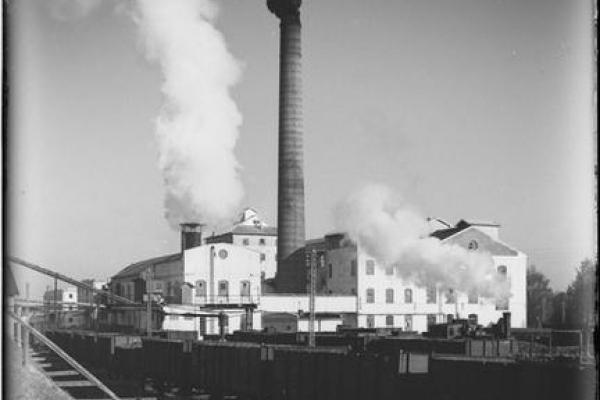 Ходорівська цукроварня на ретро світлинах 1930 року (Фото)