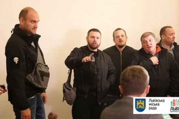 У Львівській міськраді поскаржилися на участь активістів у засіданні виконкому