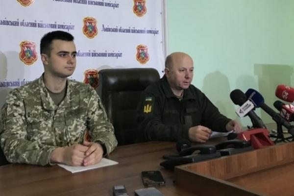У військкоматі розповіли, чи вплине воєнний стан на громадян Львівщини