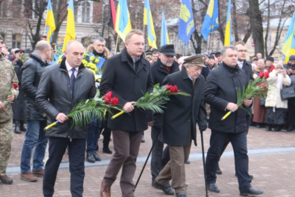 На Львівщині відзначають 110-ту річницю від дня народження Степана Бандери