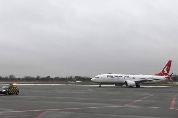 Аеропорт «Львів» відновив роботу після інциденту літаком Turkish Airlines
