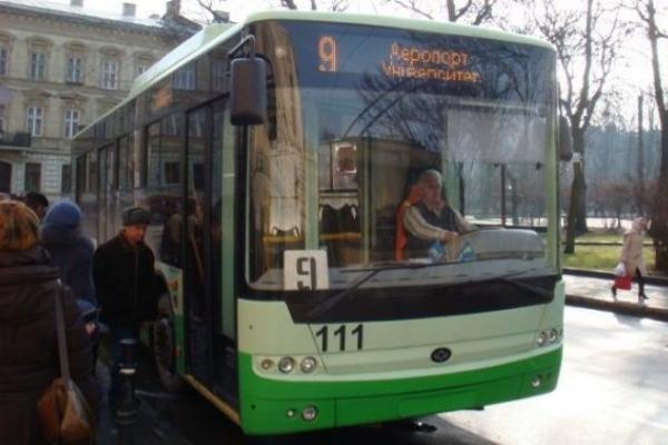 У Львові тимчасово змінено рух громадського транспорту. Деталі