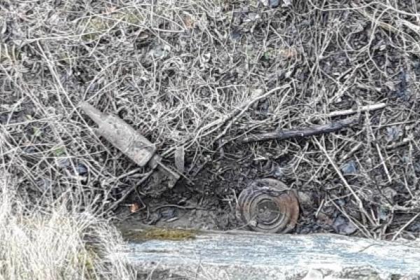 У Сколівському районі під мостом виявили міну