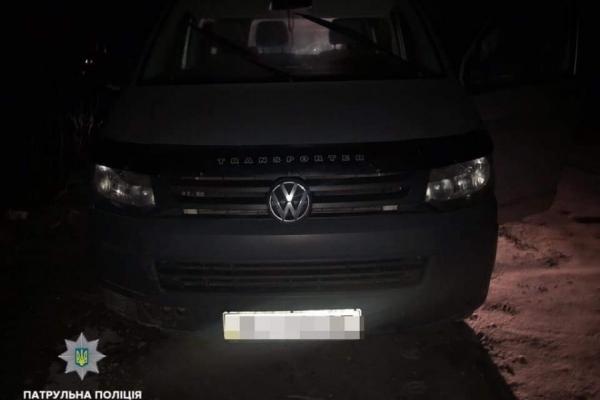 У Львові знайшли крадену машину з тухлим м'ясом (Фото)
