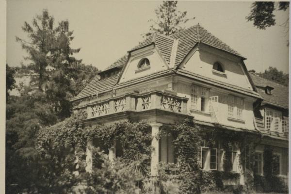 Палац в Прилбичах на фото 1932 року (Фото)