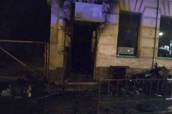 У Львові ліквідували пожежу в житловому будинку