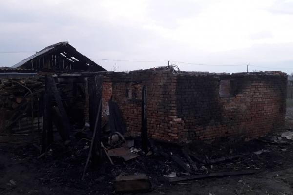 На Львівщині на пожежі згоріли коні