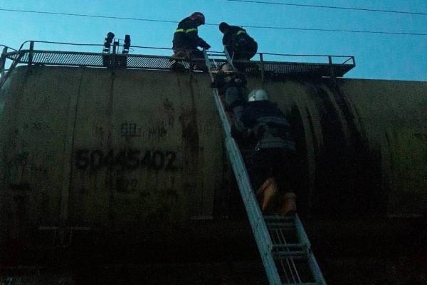 На Львівщині хлопчик заліз на вагон та постраждав від струму