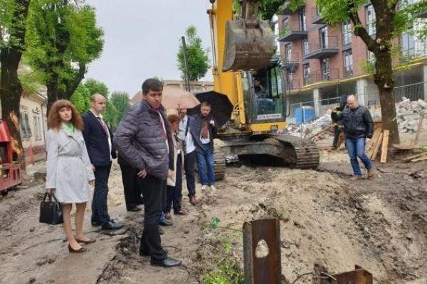 Стало відомо, доки триватиме реконструкція вулиці Замарстинівської у Львові