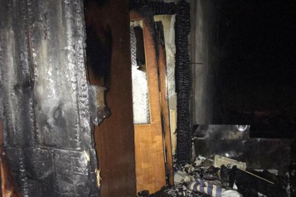 На Бродівщині гараж «спалив» дачу (Фото)