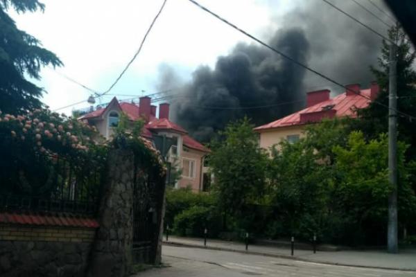 У Львові на будівництві виникла пожежа