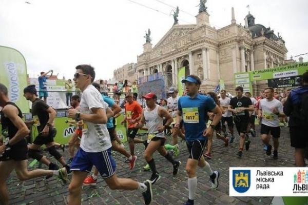 Львівський півмарафон зібрав близько 3,5 тисячі бігунів
