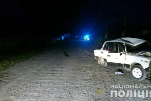 На Львівщині загинули внаслідок зіткнення автомобіля й мопеда двоє хлопців
