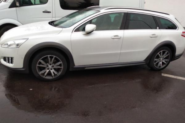 Митники вилучили на Львівщині «Peugeot»