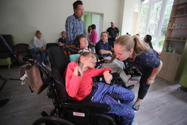 У Львові відкрили простір для людей з інвалідністю