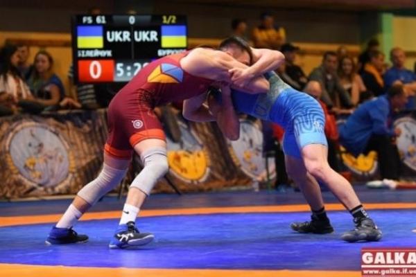 Борець зі Львова здобув золоту медаль чемпіонату України