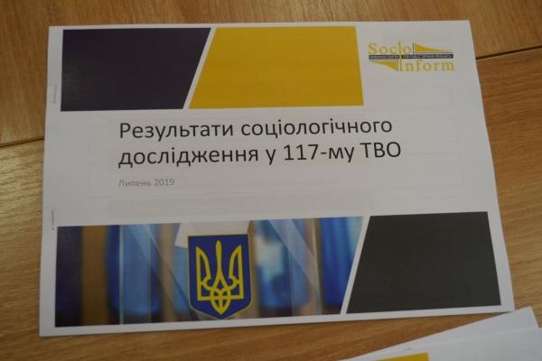 За соціологічними дослідженнями Українського центру дослідження громадської думки «Соціоінформ», у 117 виборчому окрузі лідирує мажоритарниця Оксана Юринець