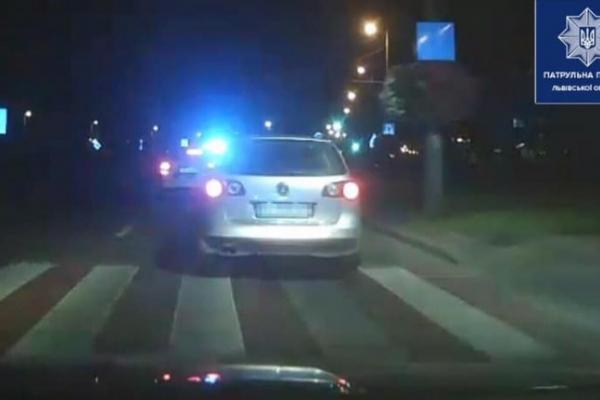П'яний водій влаштував перегони з патрульними у Львові
