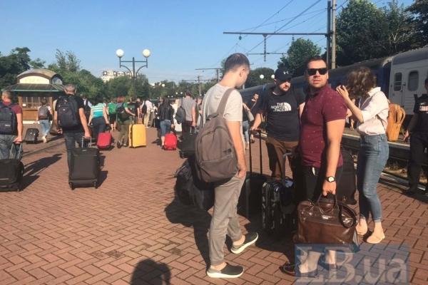 Депутати від «Слуги народу» прибули до Трускавця на навчання (Фото, відео)