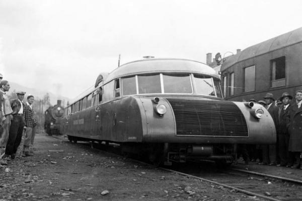 Швидкісні рейкові автобуси на Галичині у 1930-их (Фото, відео)