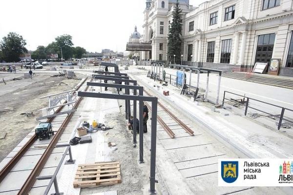 Стало відомо, коли повернуть трамвай до Головного вокзалу Львова