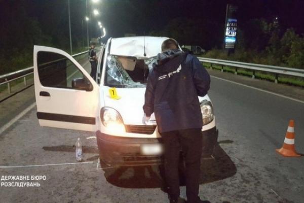 Лейтенант Нацгвардії збив на смерть пішохода у Львівській області (Фото)