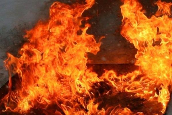 На Львівщині вдові добровольця АТО, котра сама виховує 7 дітей, спалили господарство
