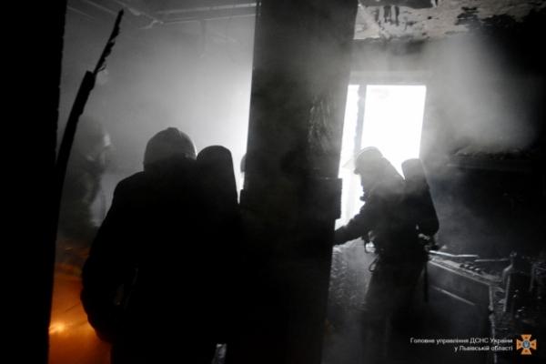 У Львові горіла квартира