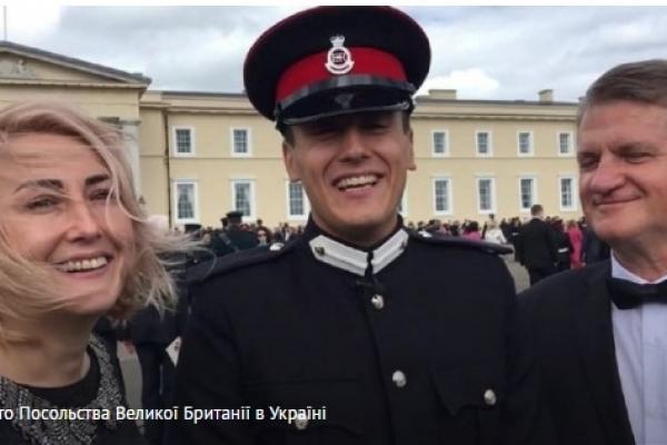 Львівський курсант вразив британських військових
