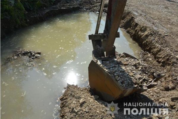 На Львівщині правоохоронці запобігли незаконному видобутку гравію