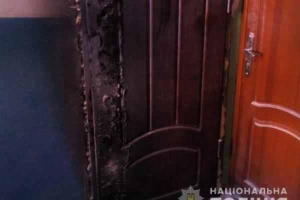 Невідомі підпалили двері квартири працівника Львівської міськради