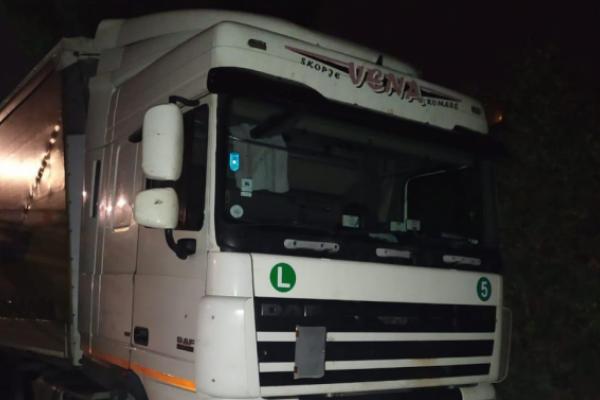 У Львові знайшли афганців у причепі вантажівки
