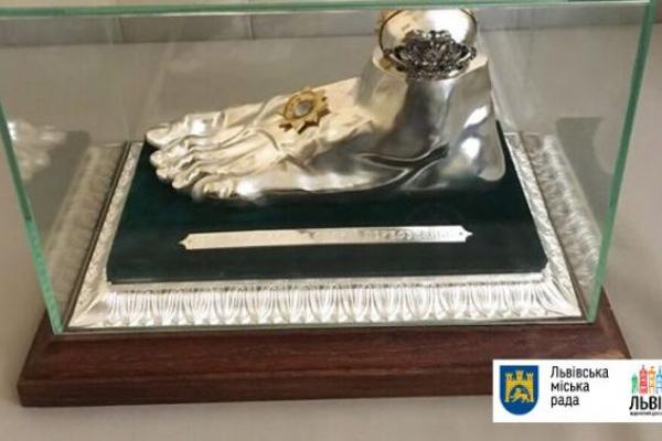 Мощі апостола Андрія Первозванного будуть виставлені у львівському храмі
