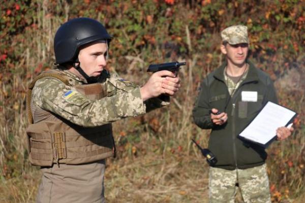 Львівські курсанти стали чемпіонами ЗСУ зі стрільби